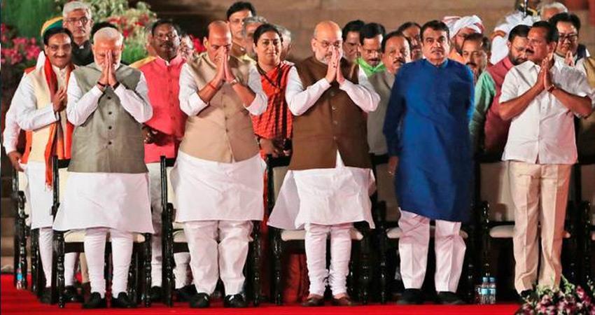 प्रधानमंत्री नरेंद्र मोदी की नवगठित सरकार में 51 मंत्री करोड़पति