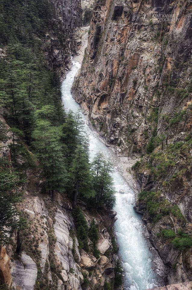 भैरों घाटी हिमालय की एक मनोरम  घाटी
