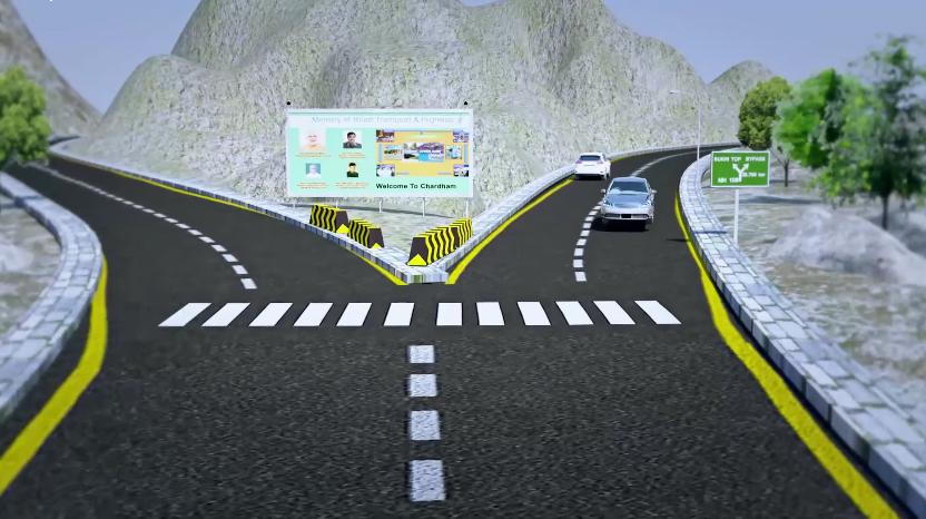 उत्तराखंड में 'ऑल वेदर रोड' प्रगति पर