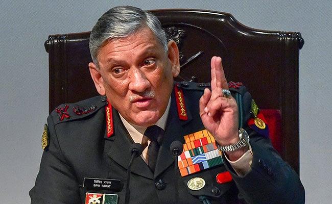 पाकिस्तान की हिम्मत नहीं कि वह अब कारगिल जैसा दुस्साहस करे,जनरल बिपिन रावत