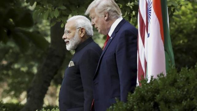 अमेरिका राष्ट्रपति डोनाल्ड ट्रंप ने कहा कश्मीर पर मध्यस्थता का सवाल ही नहीं