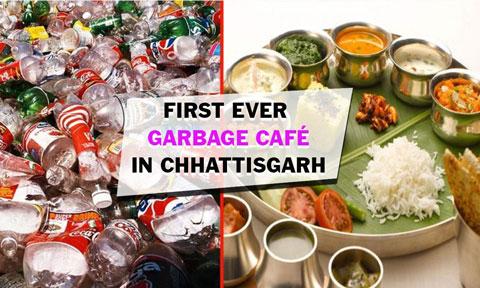 अद्भुत ,प्लास्टिक कचरा लाइए और भरपेट खाना खाइए