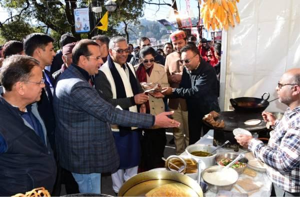 फूड फेस्टिवल के माध्यम से राज्य के व्यंजनों को मिलेगा प्रोत्साहन-सीएम रावत