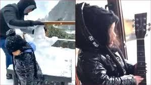 महेंद्र सिंह धोनी ने परिवार के संग पहुंचे मसूरी,जमकर उठाया बर्फबारी का लुफ्त
