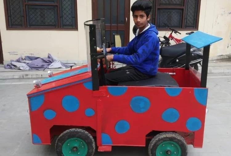 उत्तराखंड  में 13 साल के बच्चे ने इलेक्ट्रिक कार बनाकर तोड़े सारे रिकॉर्ड
