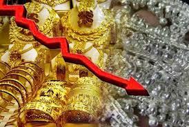 कोरोना का असर सराफा बाजार पर भी, सोने-चांदी के भाव में भारी गिरावट