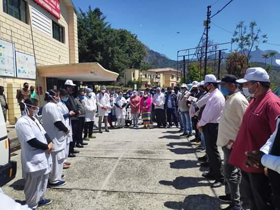 चमोली से अच्छी खबर,15 कोरोना पाॅजिटिव स्वस्थ होकर लौटे अपने घर