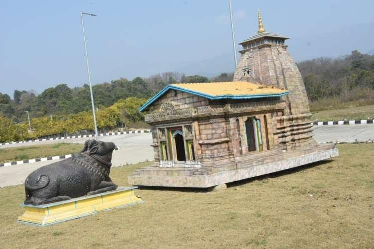 संस्कृति विभाग के म्यूजियम में संरक्षित रखी गई केदारखण्ड झांकी