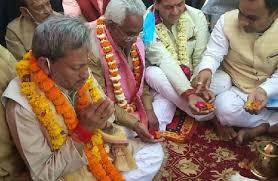 मुख्यमंत्री तीरथ रावत ने हरिद्वार में गंगा पूजन कर की सर्व कल्याण की कामना