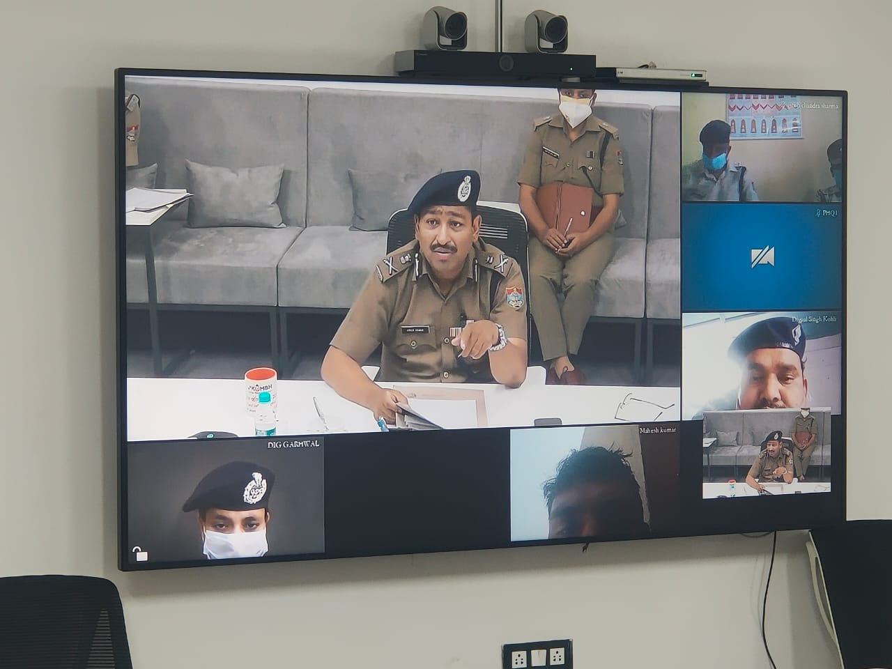 उत्तराखंड पुलिस महानिदेशन ने वीडियो कान्फ्रेसिंग के माध्यम से सुनी विभिन्न जनपदों की शिकायतकर्ताओं क