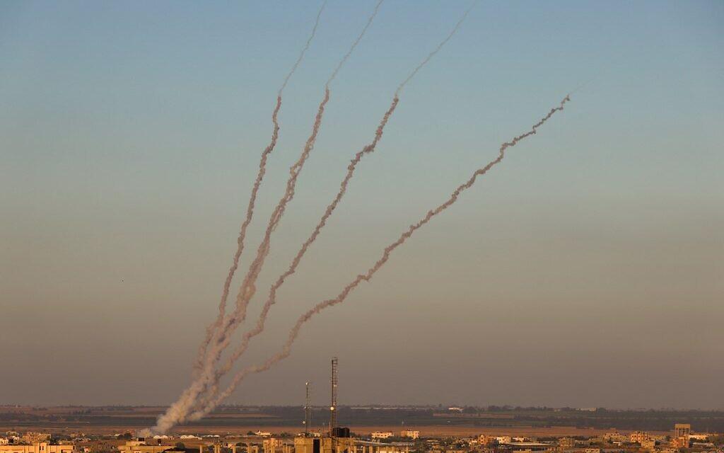 इजराइल के हमले से फिर दहल उठा गाजा