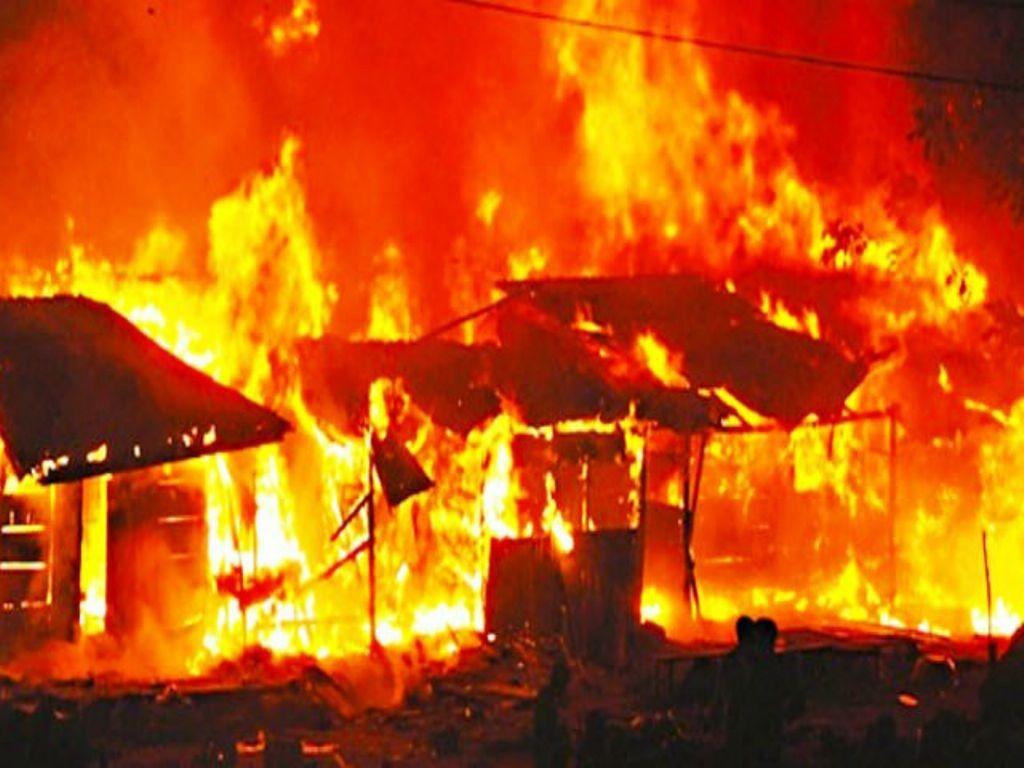 कोरोना अस्पताल में लगी भीषण आग 50 लोग जलकर हो गए खाक