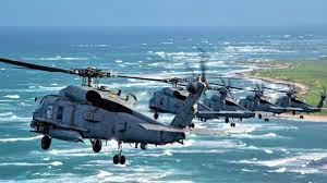 अमेरिका ने भारत को सौंपे दो लड़ाकू हेलिकॉप्टर
