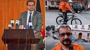 अफगानिस्तान के मंत्री जर्मनी में खाना डिलीवरी करके पाल रहे पेट