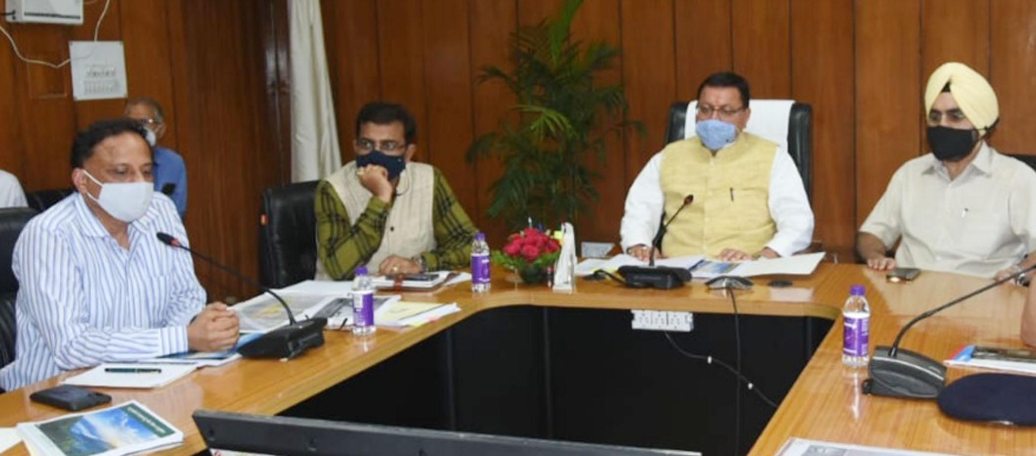 सीएम पुष्कर धामी ने की पर्यटन विभाग की समीक्षा,वीर चन्द्र सिंह गढ़वाली पर्यटन स्वरोजगार योजना के तहत