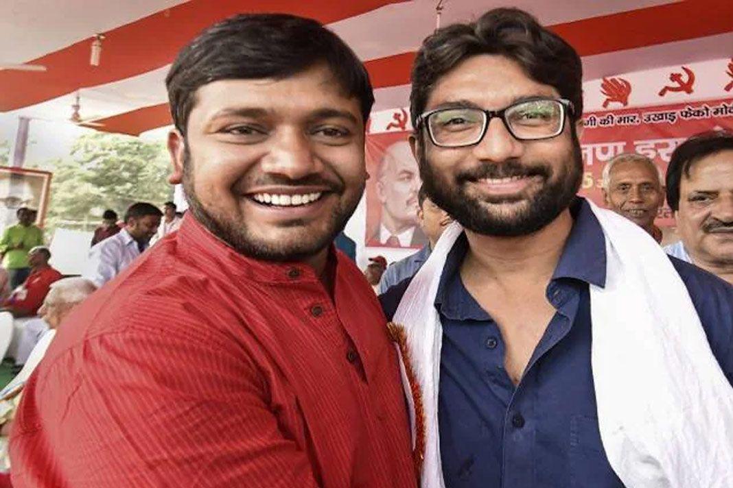 कांग्रेस का हाथ थामने जा रहे कन्हैया कुमार और जिग्नेश मेवाणी