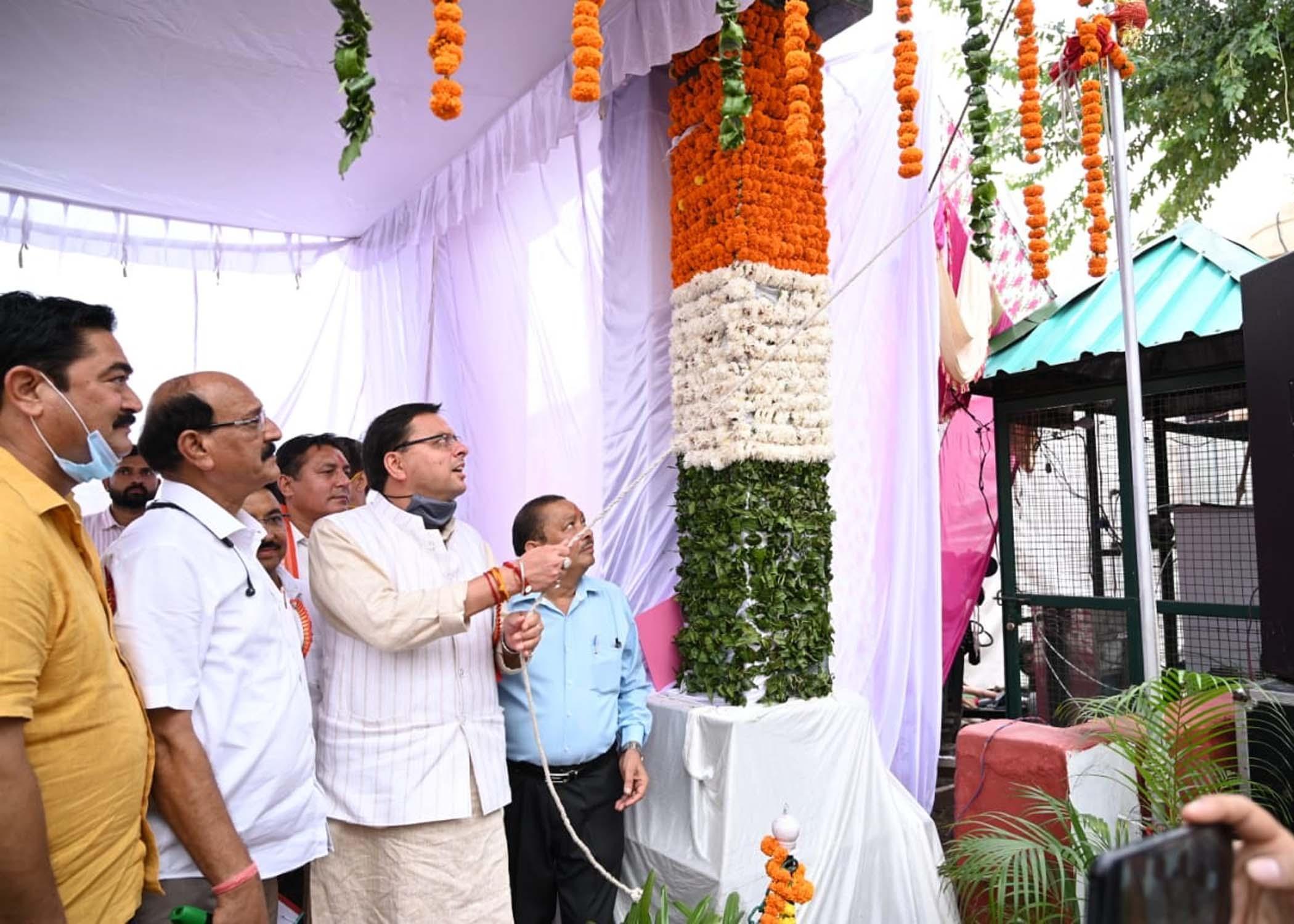 सीएम पुष्कर धामी ने किया नरेंद्रनगर में 45वां सिद्धपीठ श्री कुंजापुरी पर्यटन एवं विकास मेले का उद्घा