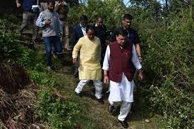 मुख्यमंत्री पुष्कर धामी ने किया चमोली जिले के आपदा प्रभावित डुंग्री गांव का दौरा